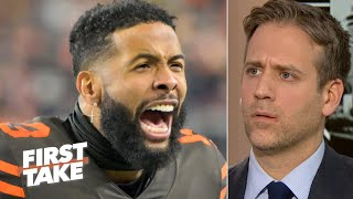 Odell Beckham's sideline argument with Freddie Kitchens is a big deal – Max Kellerman | First Take