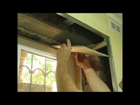 видео: как шить пластиковые панели, откос и раскладка