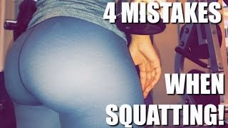 4 Mistakes Youre Making When Doing Squats!