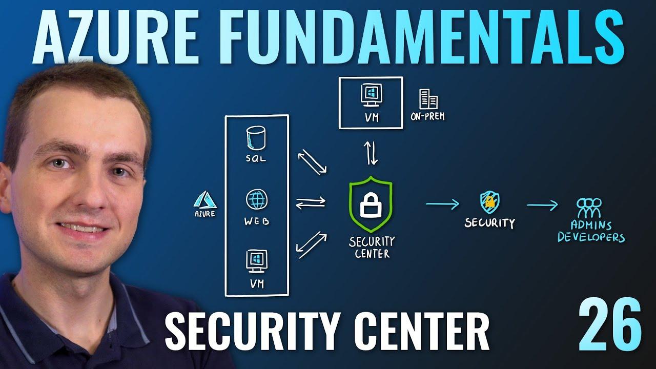 AZ-900 Episode 26 | Azure Security Center