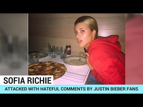 Sofia Richie Gets Hate From Justin Bieber Fans?!