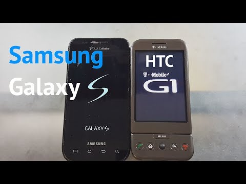 Samsung Galaxy S vs. First Ever Android Phone Boot Up Speed Test - Who's Faster!?