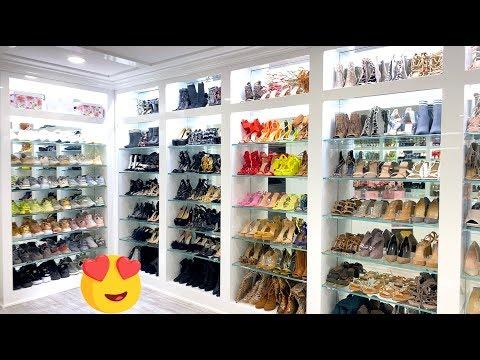 my-new-beauty-room-/-shoe-closet-tour-2019!-carli-bybel