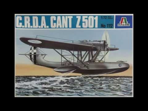 1/72 Italeri CANT Z 501 C.R.D.A. Kit# 112