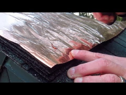 Copper Roof Strips Youtube