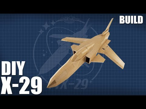 DIY Jet | FT X-29 BUILD