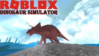 Roblox Dinosaur Simulator - NEW TRIKE REMODEL + Surprise GIF At End!