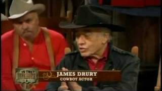JAMES DRURY (THE VIRGINIAN) Interviewed