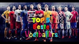 Top 5 beste voetballers