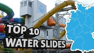 TOP10: Die extremsten Wasserrutschen Deutschlands - Germany's most extreme water slides