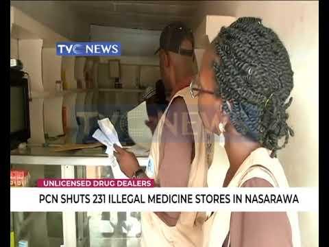 PCN shuts 231 illegal medicine stores in Nasarawa