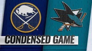 Buffalo Sabres vs San Jose Sharks – Oct.18, 2018 | Game Highlights | NHL 18/19 | Обзор матча