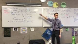 Proving Binomial Identities (4 of 6: Finding pairings for constant term & proving identity)