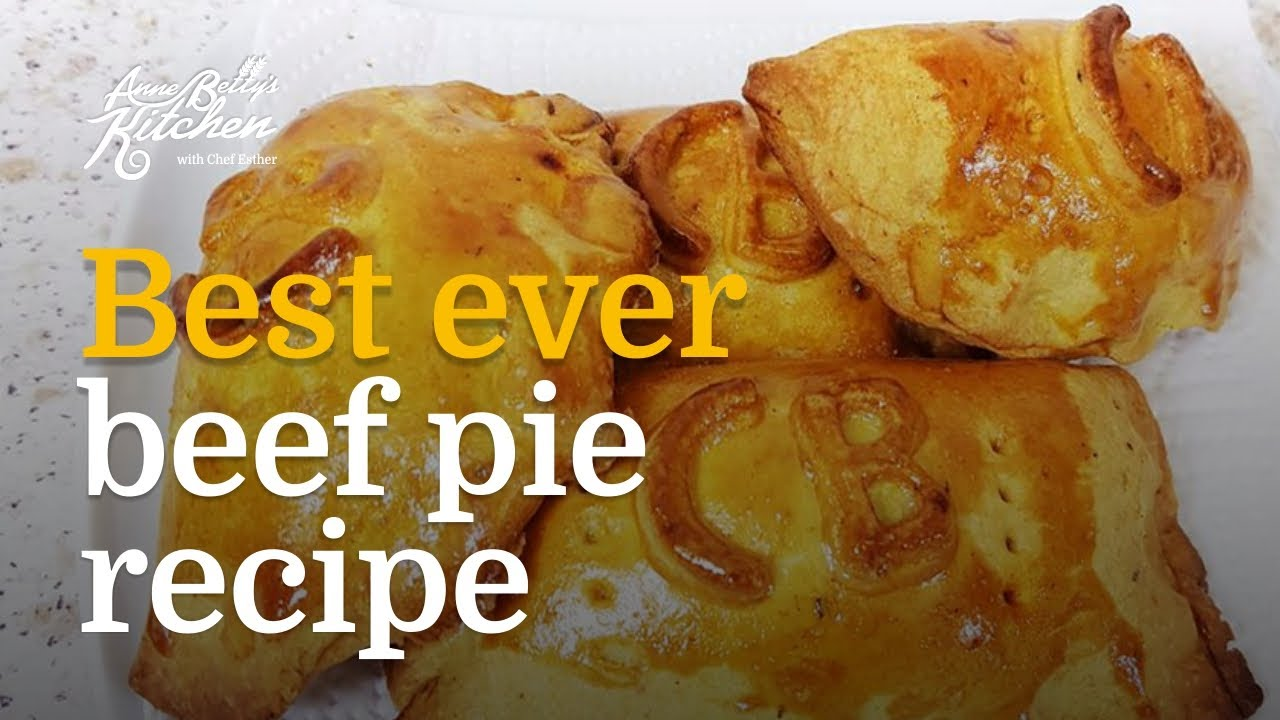 AnneBetty's Best Ever Chunky Beef Pie Recipe | How To Bake ...