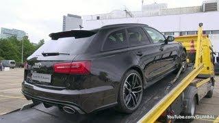 2014 Audi RS6 Avant - Start up + Little Revs! - 1080p HD
