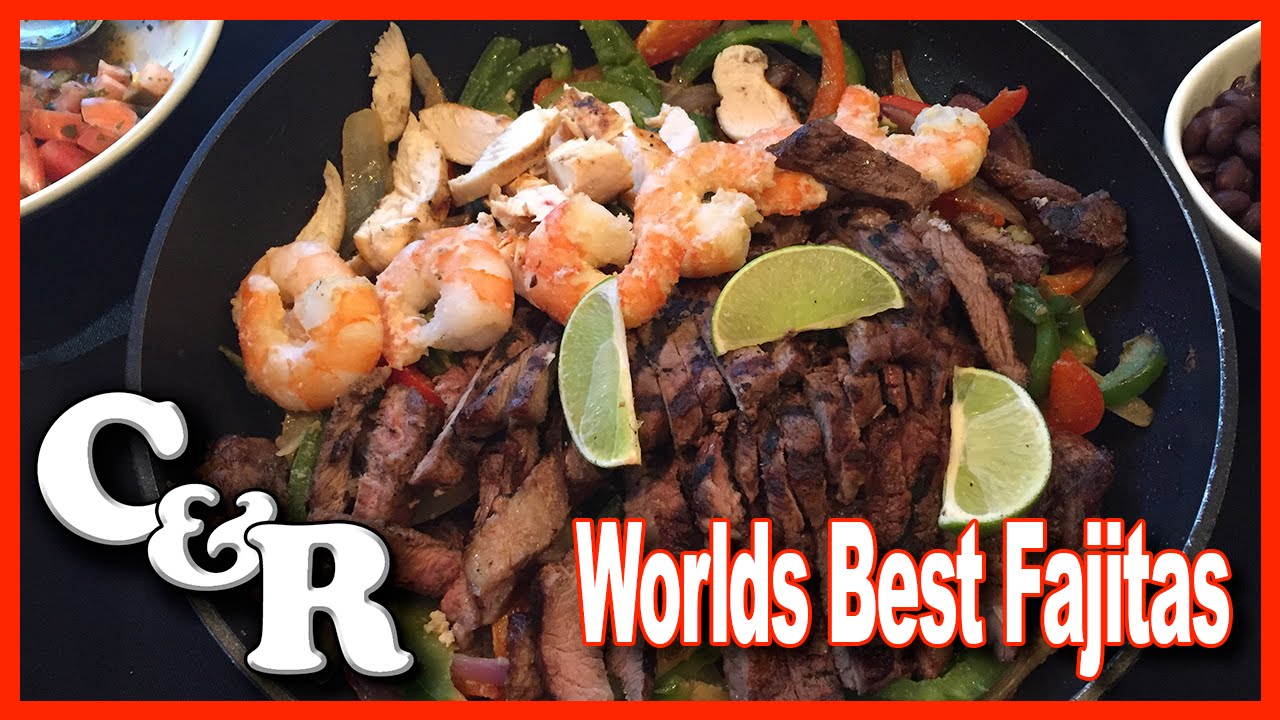 World's Best Homemade Fajitas Recipe - Cook & Review Ep #7