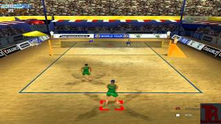 Power Spike Pro Beach Volleyball gameplay