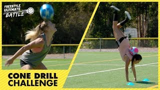 Cone Drill Challenge - Episode 7 - Freestyle Ultimate Battle