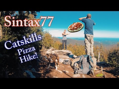 Catskills Hiking & Trail Pizza - Backpacking with our Dog