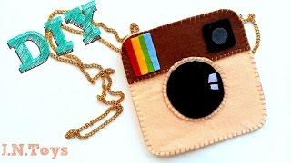 DIY сумка Instagram своими руками быстро и легко!
