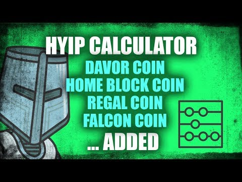 Compound HYIP Calculator Update - New Lending Programs Added