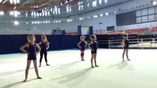 🎾 Художественная гимнастика Юлии Барсуковой 👯 Открытый урок в Адлер-арене, Даниэла Есина 👩🏼