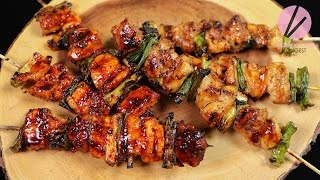 Asian at Home | Korean Street Chicken on a Stick