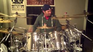 Dirty White Boy (Foreigner) Drum Cover by Eddie Thomas