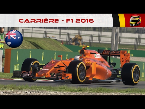 F1 2016 - Carrière #22 : Orange is the new black ! [FR ᴴᴰ]