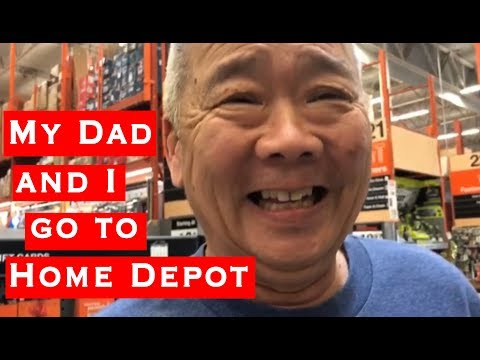 MY DAD AND I GO TO HOME DEPOT | Kylie Moy