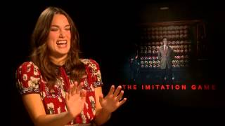 Keira Knightley Does an Impression of Imitation Game Co-Star Benedict Cumberbatch