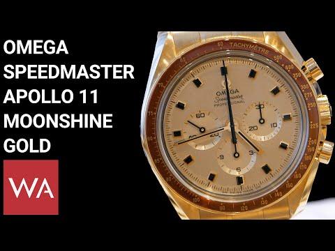 Hands-on: Omega Speedmaster Apollo 11 50th Anniversary LE Moonshine Gold