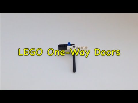 Fll 2015 Trash Trek Lego One Way Doors Youtube