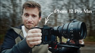 Using The iPhone 12 Pro Max As A Cinema Camera?! WOAH!