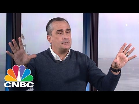 Intel CEO Brian Krzanich: Inside The White House | Mad Money | CNBC