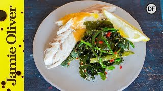 Baked Seabass with Greens | Jamie Oliver & Bart's Fish Tales