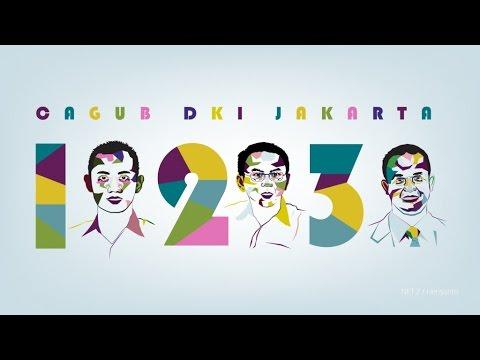Adu Kreativitas Para Cagub di Medsos: Video Kreatif Pasangan Calon Gubernur Anies-Uno