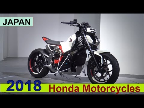 The Honda 2018 Motorcycles - Show Room JAPAN