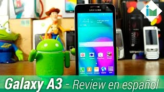 Samsung Galaxy A3 - Review en español