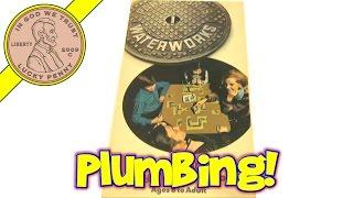 Waterworks Vintage 1972 Parker Brothers Plumbing Card Game