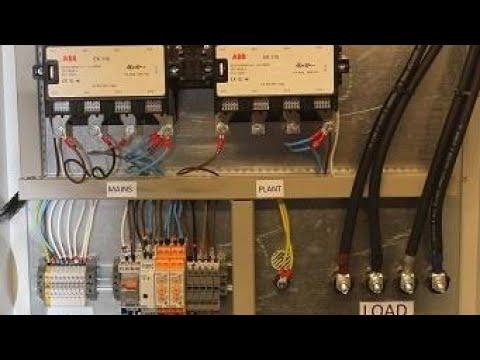 Generators Ats Main wiring Hindi Urdu