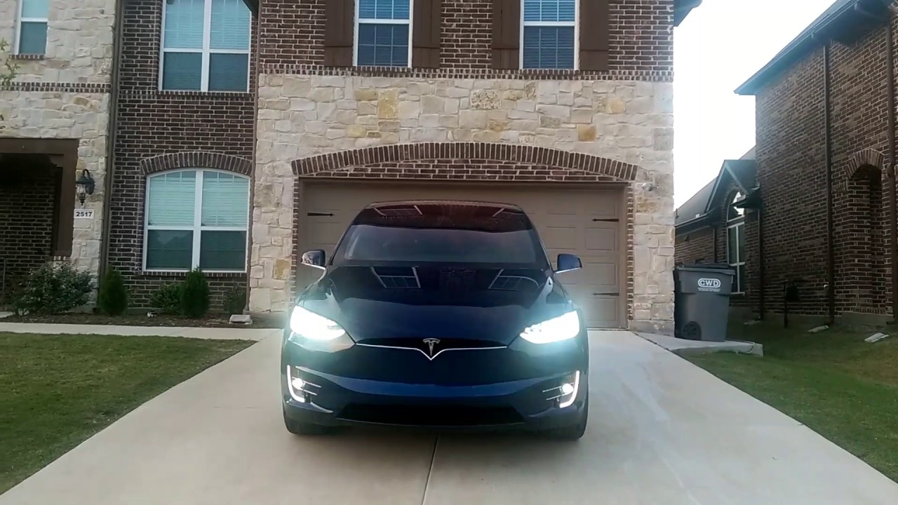 Cool New Feature of the Tesla Model X