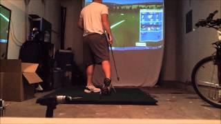 DIY Home Golf Impact Screen - P3ProSwing v6 Practice Test - P3Live.com