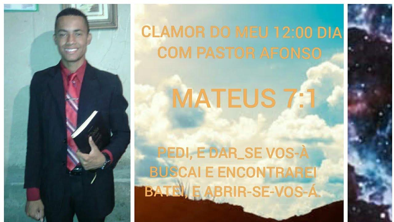 CLAMOR DO MEU 12:00 DIA COM PASTOR AFONSO