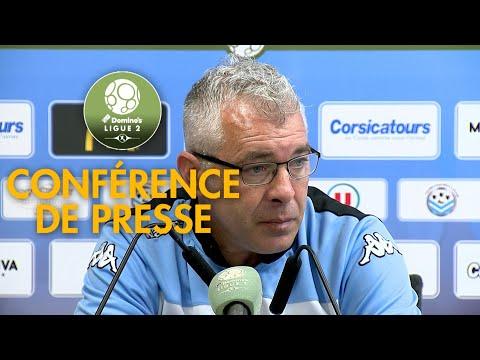 Conférence de presse Tours FC - Châteauroux ( 0-1 )  / 2017-18