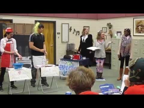 Odyssey of the Mind: 2015 Hull Middle School: Silent Movie