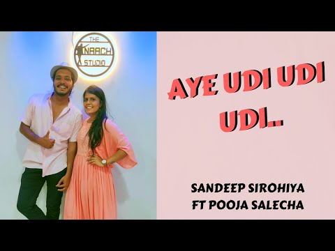 aye-udi-udi-udi-|-saathiya-|-dance-performance-|-sandeep-&-pooja-|-the-naach-studio