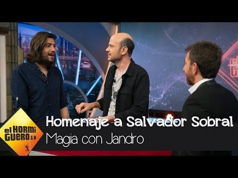 Jandro realiza un mágico homenaje a Salvador Sobral en † El Hormiguero 3.0 † - El Hormiguero 3.0