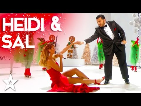 Heidi Klum Performs 'Santa Baby' Duet with Sal Valentinetti | Holiday Spectacular!