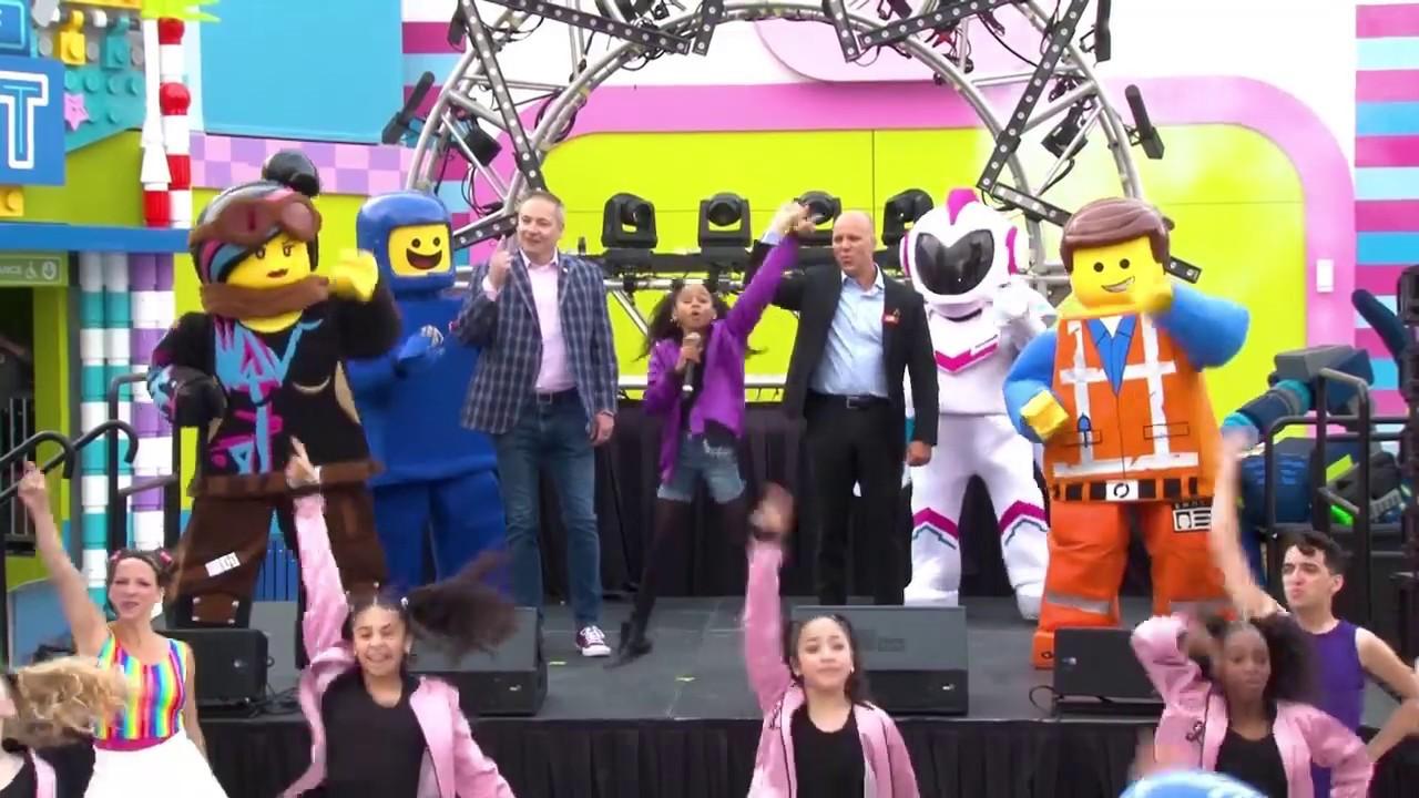 The LEGO Movie World Gand Opening LEGOLAND Florida